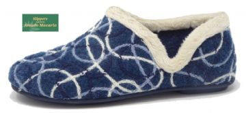 KAREN' Ladies  V side Slippers  BLUE